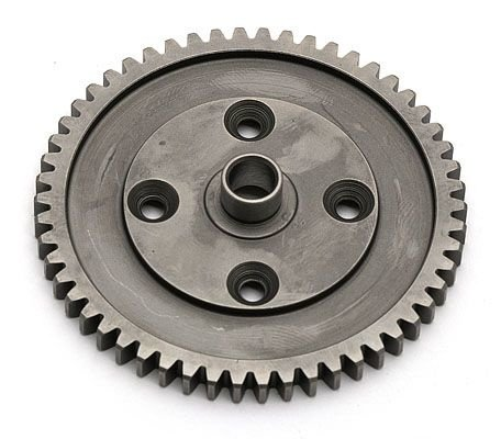Шестрня ведомая (RC8T) 54T 1M.  Spur Gear, 54T, with diff gasket (in kit) артикул AS89374