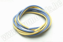 SILICON WIRE 2,5MM Y+BL 2X1M  артикул  PL084