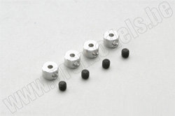 ALU WHEEL COLLAR 2MM, 4 PCS  артикул  MA473