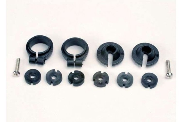 Поршень амортизатора (Piston head set, (2 sets of 3 types) shock collars (2) spring retainers) артикул TRA1965
