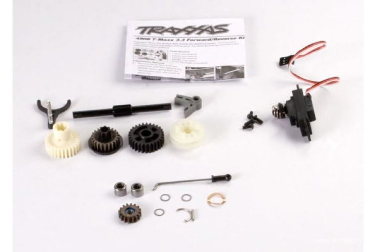 Reverse installation kit (includes all components to add mechanical reverse (no Optidrive) to T-Maxx артикул TRA4995X
