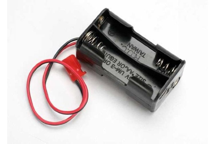 Battery holder, 4-cell (no on/off switch) (for Jato and others that use a male Futaba style connecto артикул TRA3039