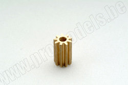 Шестерня 9 зубьев под вал 2.3 мм [ MOTOR PINION GEAR 9T 2,3MM ZOOM400 ] артикул T0500.053